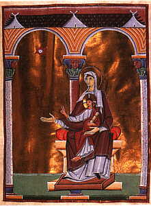 Madonna and Child ~ Adoration of the Magi